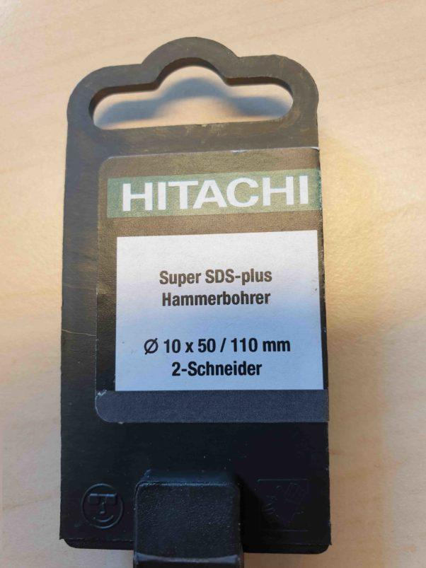 Hitachi Prioline Hammerbohrer 10×50 / 110mm 2Schneider
